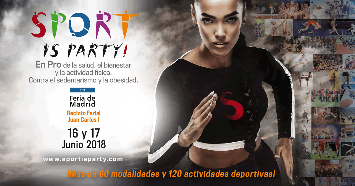 sport is party madrid la feria del deporte
